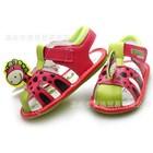 รองเท้ารัดส้นไดโนเสาร์น้อย-สีแดง-(5-คู่/แพ็ค)