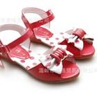 รองเท้ารัดส้นกุ๊บกิ๊บ-สีแดง-(5คู่/แพ็ค)