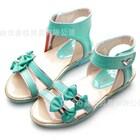 รองเท้ารัดส้นแถบโบว์คู่-สีเขียว-27-31-(5คู่/แพ็ค)