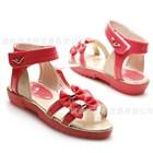 รองเท้ารัดส้นแถบโบว์คู่-สีแดง-27-31-(5คู่/แพ็ค)