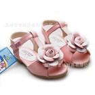 รองเท้ารัดส้นดอกไม้ใหญ่-สีชมพู-(5คู่/แพ็ค)