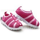 รองเท้าผ้าใบดาวกระต่าย-สีชมพู-(6คู่/แพ็ค)