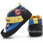 รองเท้าผ้าใบแนวพังค์-สีน้ำเงิน-(6คู่/แพ็ค)