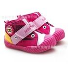 รองเท้าผ้าใบแนวพังค์-สีชมพู-(6คู่/แพ็ค)