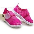 รองเท้าผ้าใบสปอร์ตแบบโปร่ง-สีชมพู-(6คู่/แพ็ค)