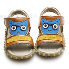 รองเท้ารัดส้นกระรอกแว่น-สีน้ำตาลอ่อน-(5คู่/แพ็ค)