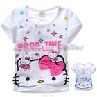 เสื้อแขนสั้น-Kitty-Good-Time-สีขาว-(5size/pack)