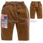 กางเกงขายาวพันธมิตร-สีน้ำตาล-(5size/pack)