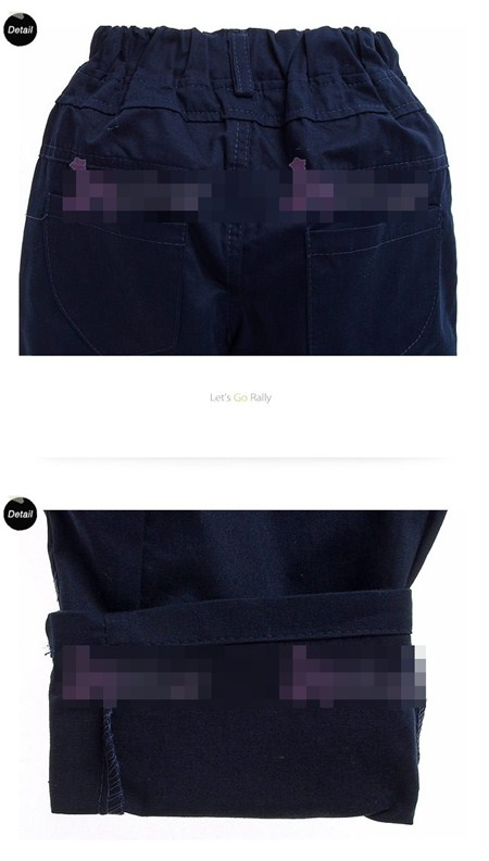 กางเกงขายาวพันธมิตร สีกรมท่า (5size/pack)