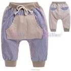 กางเกงขายาวกระเป๋าจิงโจ้-สีกากี-(5size/pack)
