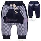 กางเกงขายาวกระเป๋าจิงโจ้-สีกรมท่า-(5size/pack)