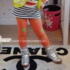 กางเกงเลกกิ้งหัวกะโหลก-สีส้ม-(5-ตัว-/pack)