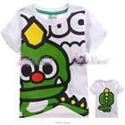 เสื้อแขนสั้นมังกรเขียว-(5size/pack)