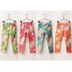 กางเกงขายาวลายดอกวินเทจ-คละสี-(6-ตัว/pack)