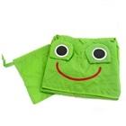 เสื้อกันฝนกบน้อยสีเขียว-(5-ตัว/pack)