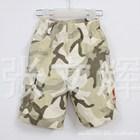 กางเกงขาสามส่วนลายทหารโทนน้ำตาล-(5ตัว/pack)