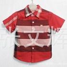 เสื้อเชิ้ต-Burberry-ลายสก๊อต-สีแดง-(5-ตัว/pack)