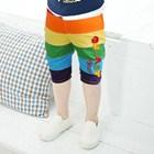 กางเกงขาสามส่วนสีรุ้ง-(5ตัว/pack)