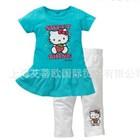 ชุดเดรสกางเกง-Kitty-Sweet-สีฟ้า-(5-ตัว/pack)
