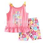 ชุดเสื้อกางเกงบิกินี่คิตตี้-สีชมพู-(5-ตัว/pack)
