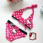 บิกินนี่ลายจุด-Hello-Kitty-สีชมพู-(5-ตัว/pack)