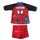 ชุดว่ายน้ำเสื้อกางเกง-SPIDERMAN-(3-ตัว/pack)