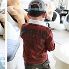 เสื้อแจ็คเก็ต-Michael-Jacksonสีน้ำตาล-(5size/pack)
