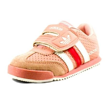 รองเท้าผ้าใบ ADIDAS HIP HIP สีชมพู (6คู่/แพ็ค)