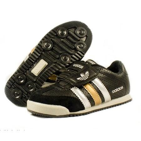 รองเท้าผ้าใบ ADIDAS HIP HIP สีดำ (6คู่/แพ็ค)