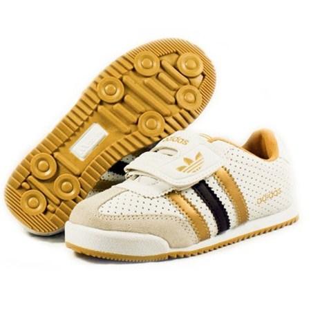 รองเท้าผ้าใบ ADIDAS HIP HIP สีขาว (6คู่/แพ็ค)