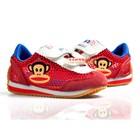 รองเท้าผ้าใบ-Paul-Frank-Air-สีแดง-(6คู่/แพ็ค)