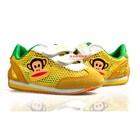 รองเท้าผ้าใบ-Paul-Frank-Air-สีเหลือง-(6คู่/แพ็ค)