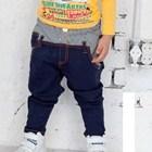 กางเกงขายาวเกาหลีๆ-สีกรมท่า-(4size/pack)