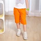 กางเกงสามส่วนจี๊ดจ๊าด-สีส้ม-(5size/pack)
