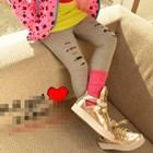 กางเกงเลกกิ้งลายริ้ว-คละสี-(5-ตัว-/pack)