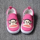 รองเท้าผ้าใบ-PAUL-FRANK-เนิดๆ-สีชมพู-(5คู่/แพ็ค)