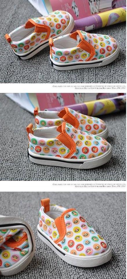 รองเท้าผ้าใบ PAUL FRANK หลากสี (5คู่/แพ็ค)