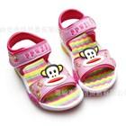 รองเท้ารัดส้น-Paul-Frank-PPWZI-สีชมพู-(6คู่/แพ็ค)