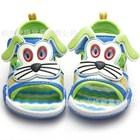 รองเท้ารัดส้นน้องหมาเท้าไฟ-สีเขียว-(6คู่/แพ็ค)