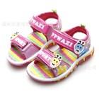 รองเท้ารัดส้นยีราฟสดใส-สีชมพู-(6คู่/แพ็ค)