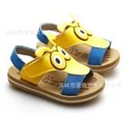 รองเท้ารัดส้นมดน้อย-สีเหลือง-(5คู่/แพ็ค)