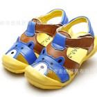 รองเท้ารัดส้นหมีน้อยวัยใส-สีฟ้า-(5คู่/แพ็ค)