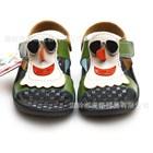 รองเท้ารัดส้น-snow-man-สีน้ำตาล-(6คู่/แพ็ค)