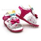 รองเท้ารัดส้น-Rabbit-Sleep-สีชมพูเข้ม-(5คู่/แพ็ค)