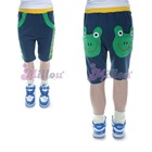 กางเกงขาสั้นกบน้อย-สีน้ำเงิน-(5size/pack)