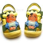 รองเท้ารัดส้นวัวเด็ก-สีเขียว-(5คู่/แพ็ค)
