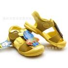 รองเท้ารัดส้นวัวเด็ก-สีน้ำตาลทอง-(5คู่/แพ็ค)