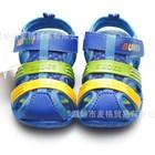 รองเท้ารัดส้น-SHOES-สีฟ้า-(6คู่/แพ็ค)