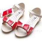 รองเท้าโบว์แก้วหวานหวาน-สีแดง-27-31-(5คู่/แพ็ค)
