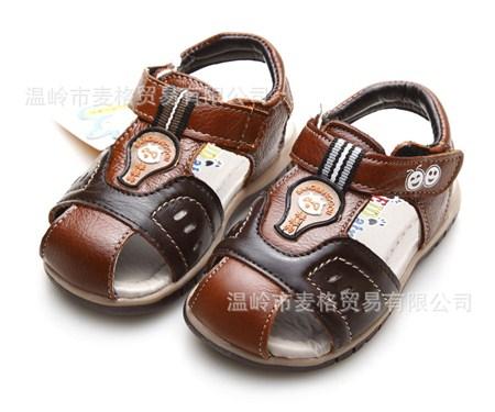 รองเท้ารันส้นหนัง Hello Panda สีน้ำตาล (6คู่/แพ็ค)